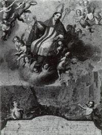 san emigdio de ascoli, patrón de los terremotos by juan patricio morlet[te] ruiz